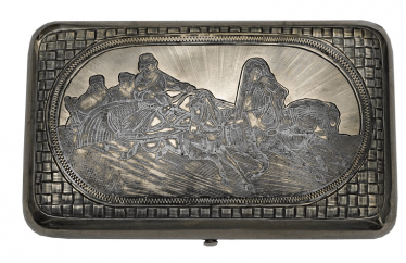 """The Troika cigarette case 1889."