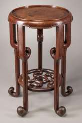 China 20th Century Redwood circle table
