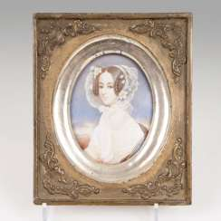 Miniature painters active in the mid-19th century. Century. Empress Maria Anna of Austria