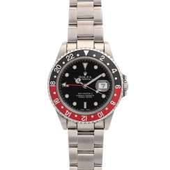 ROLEX GMT-Master II Coke mens watch, Ref. 16710. Stainless steel.