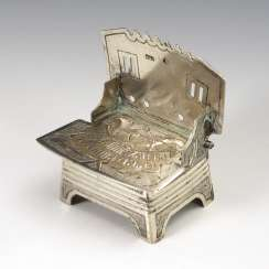 Russian Salt Throne, Silver