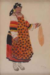 Costume Design of a Peasant Woman