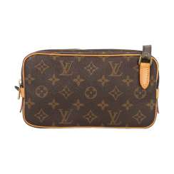 "LOUIS VUITTON VINTAGE shoulder bag ""MARLY BANDOULIERE"", collection 1992."