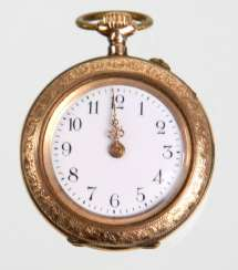 Ladies Pocket Watch - Yellow Gold 333