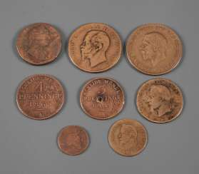 Mixed Lot Of Copper Coins