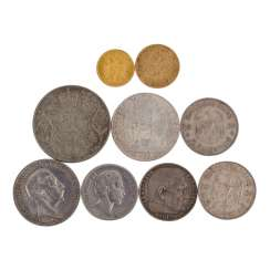 Small coin collection with GOLD