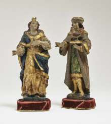 Hl. Vitus and Hl. Ruler, South Germany (Because Of Home?), 1. Half of the 17. Century
