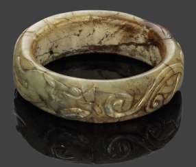 Bangle with a Chilong dragon