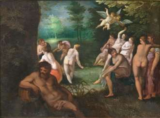 Diana's bath with Actaeon