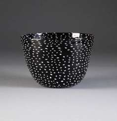 FULVIO BIANCONI 1915 Padua - 1996 Milan BIG BOWL of 'MILLE E UNA NOTTE'. Type: Italy, Venini & C., for the last quarter of the 20th century. Century