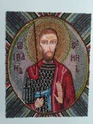 icon of St. John the Warrior