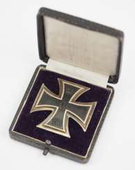 Prussia: Iron Cross, 1914, 1. Class, in a case.