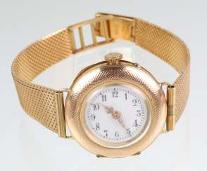 *Dürrstein&Co* watch with bracelet - yellow gold 585