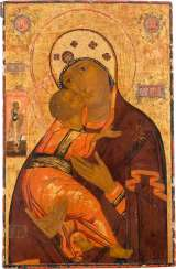 SIGNIFICANT LARGE-SCALE ICON OF THE MOTHER OF GOD WLADIMI