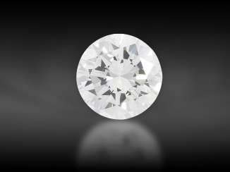 "Brilliant: Brilliant: very fine ""River"" brilliant, 0.57ct, (D) flawless, including DPL certificate from Idar-Oberstein"