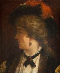 South German portrait painter Active around 1900