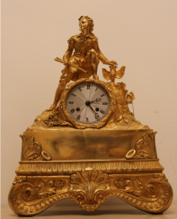 Mantel clock Early. 19th century.
