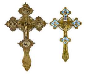 Two Blessing Crosses