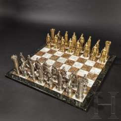 Magnificent chess game, probably Hanau, C. 1900