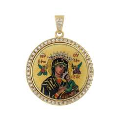 VICTOR MAYER pendant with icon motif
