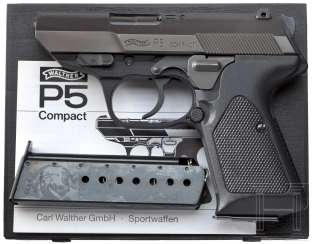 Walther P 5 Compact, in Box