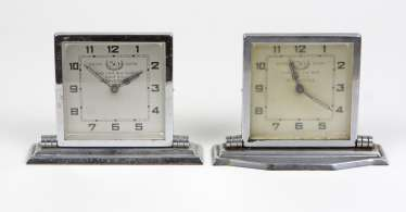 2 Table Clocks *50 Years Junghänel*