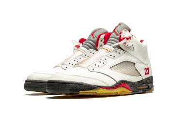 "Air Jordan 5 ""Fire Red,"" Player Exclusive Sneaker"
