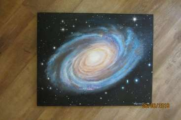 Space. Universe. Bode's Galaxy M 81