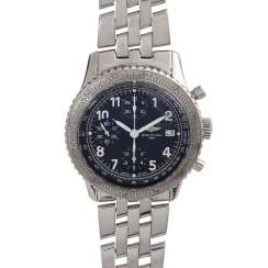 BREITLING Aviastar Chronograph men's watch, Ref. A13024. Stainless steel.