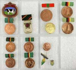 Lot of 10 awards