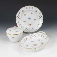 Breakthrough Cup, plate and box, MEISSEN