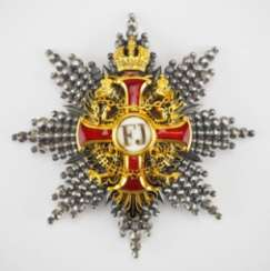 Austria: Imperial Austrian Franz-Joseph-Order, Grand Cross Star, 1. Type (1849-1872)