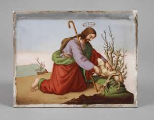 Christian Porcelain Picture Plate