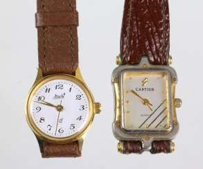 2 Ladies Wrist Watches