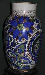 Vase blue with green. A. vorobyevsky, LFZ