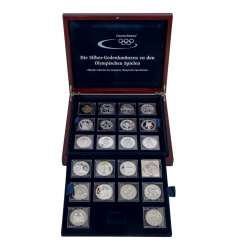 Silver commemorative coins for the Olympic Games,