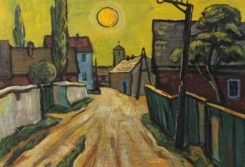 Heinz Fülfe, small city with sun