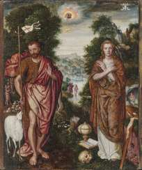 The Hll. John the Baptist and Mary Magdalene