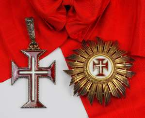 Portugal : Military Order Of Our Lord Jesus Christ, Grand Cross Set.
