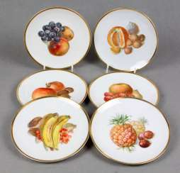 Set Fruit Plates 1926