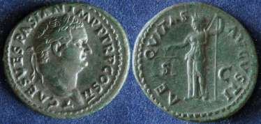 L'empire romain, Titus, 79-81 g