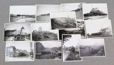 13 railway photos-Saxons to 1930/34