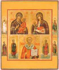 SMALL BOXES-ICON-WITH GRACE, IMAGES OF THE MOTHER OF GOD AND HOLY