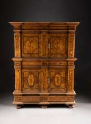 DOUBLE STOREY BAROQUE CABINET