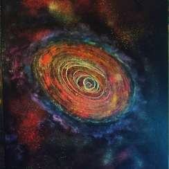 The universe of time spiral(halo of the galaxy)