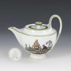 Jug with genre painting, MEISSEN