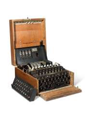 A Second World War Enigma Machine