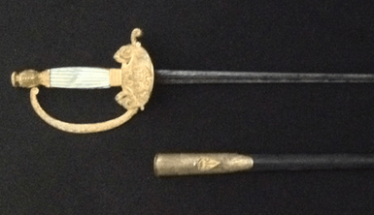 French officer's sword