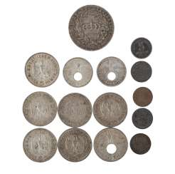 Small historic coin collection -