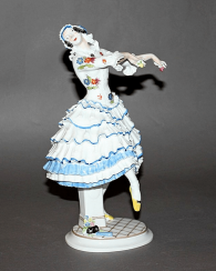 Meissen, Germany, 1914 -th year, designer P. Scheurich
